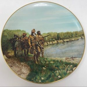 GORHAM Up The Jefferson Collector Plate